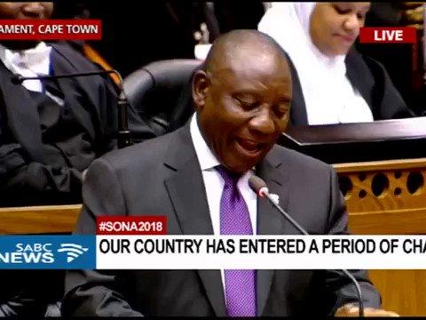 Thanks to President Cyril Ramaphosa, we're all listening to Bra Hugh Masekela this weekend. #sona2018 #PresidentElection #ZumaResigns #ThumaMina #sendme