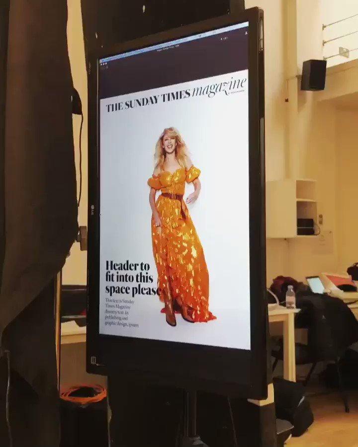 Oh hey @TheSTMagazine! 👋🏼🧡 https://t.co/mQn3U1opAV
