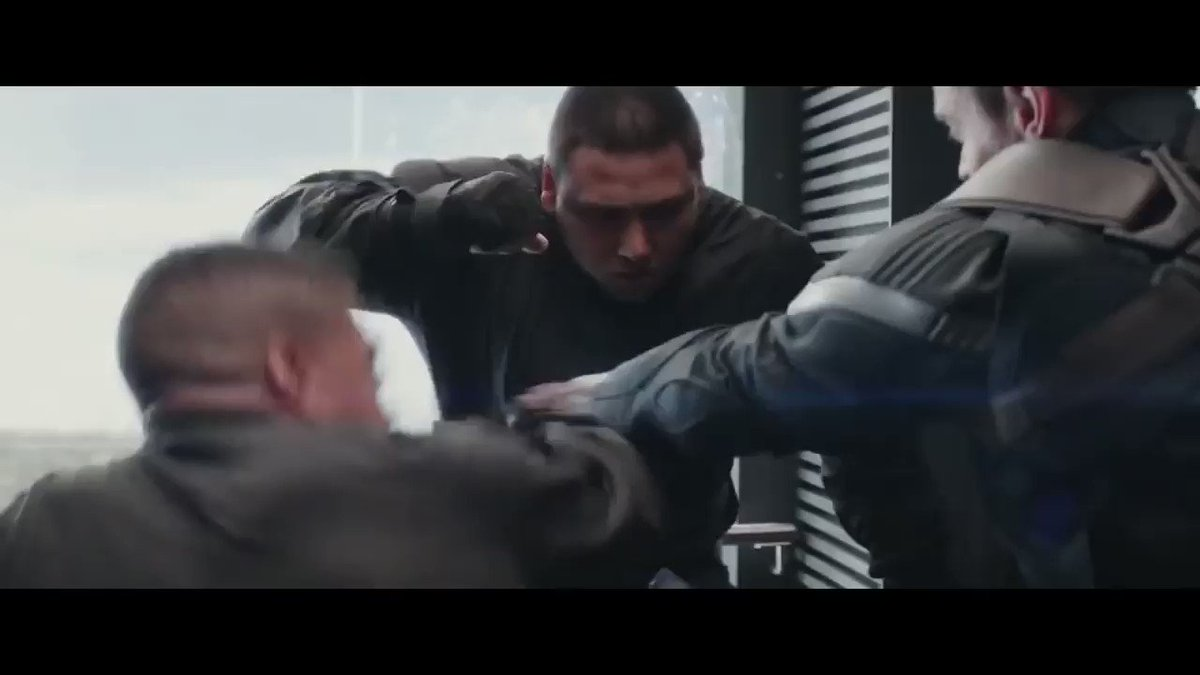 Captain America: The Winter Soldier - Elevator Fight & Escape (Pt.2) https://t.co/G4JeX6heYU