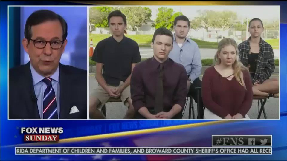 The Parkland shooting survivors tell Fox News that youre either with us or against us on gun control.#MarchForOurLives