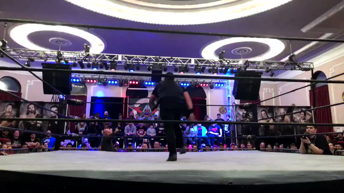 What a pop!!! #traquilo @s_d_naito   #aawshowdown #aaw #aawpro @aawpro