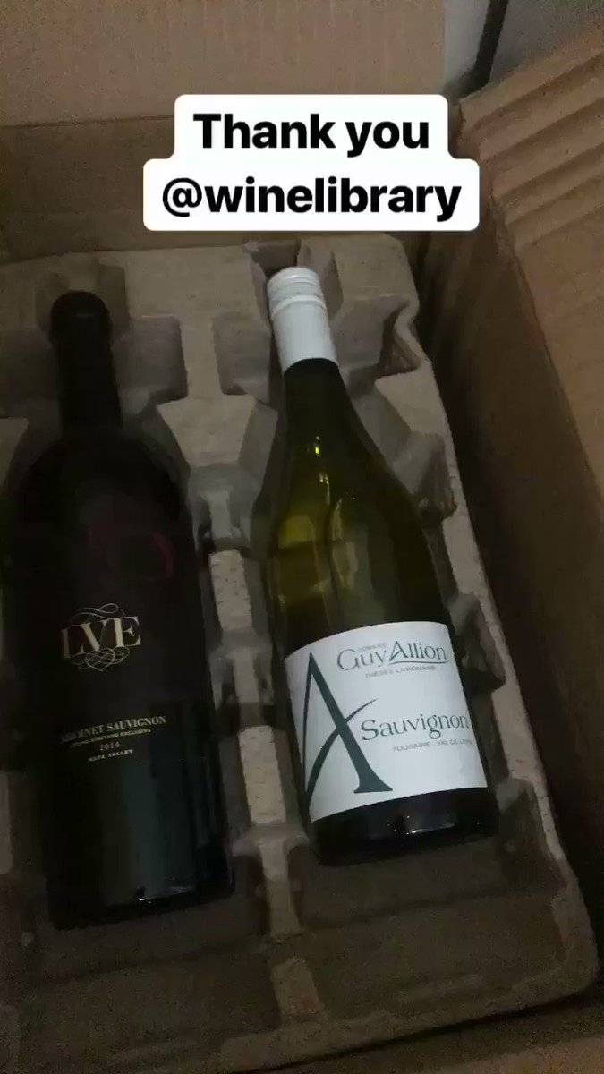 @WineLibrary Excited for my first taste of you #wineclub Thank you @garyvee