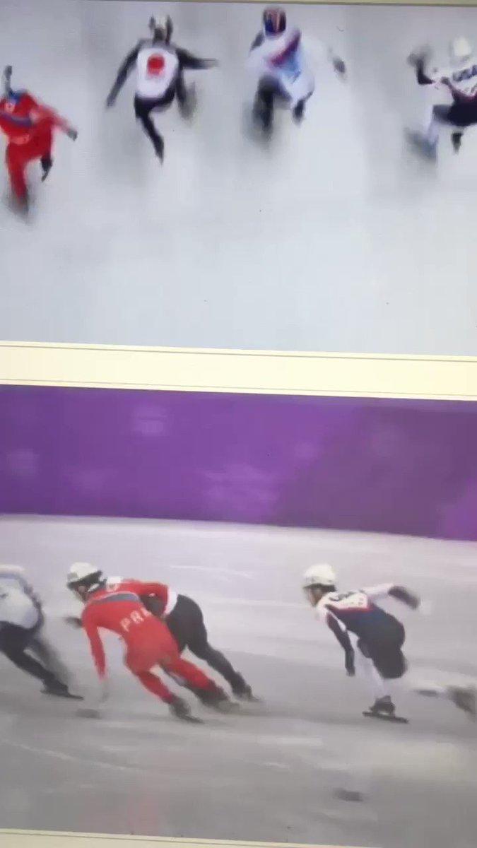 スポーツをしてはいけない民族 ショートトラックで、あからさまに 北朝鮮の選手が日本選手の妨害失格!赤いユニホーム、よく目立つわ  北朝鮮は韓国よりスポーツに 関してはマシだと思ったけど やっぱり韓国と同じだね〜呆れた。