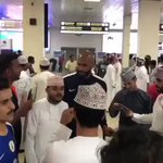 RT @KSASociety: فيديو من استقبال الجماهير العمانية...