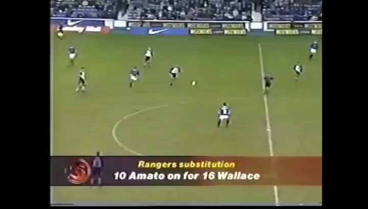 Good memories of my days in Glasgow ⚽️🔥Today in 1999 Rangers - Dundee 6-1 @RangersFC #Throwback #TB