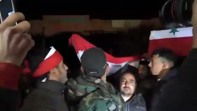 'Suriye hükümet güçleri, topçu atışların...