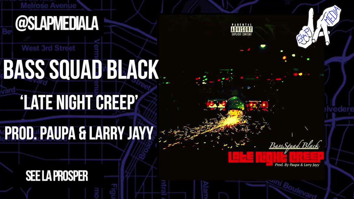 More 🔥 from Bass Squad Black in his new single Late Night Creep prod. Paupa & Larry Jayy   listen on SLAP:  goo.gl/2amFm3  |@Ride4Black|@itzPaupa|@MakinAllTheHits|