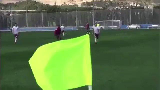 فهد المولد في مباراة ليفانتي الوديه 📹 ht...