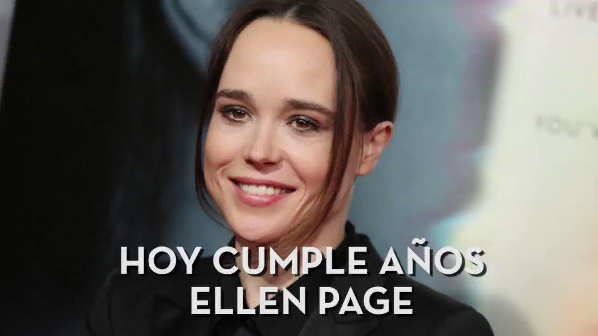 Hoy cumple años #EllenPage y la amamos d...