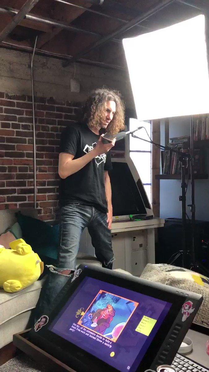 Dan explains wolfjob to Avi https://t.co/iLUMJfIJ2h