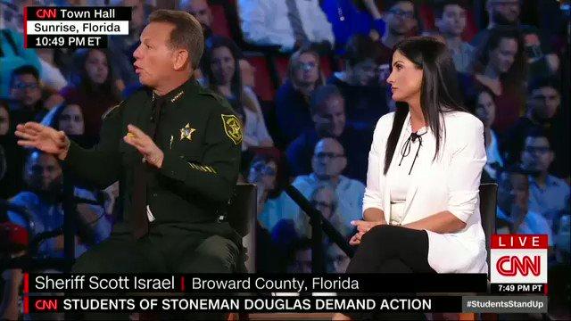 RT @ifuaskmee: WATCH & SHARE  Sheriff Scott Israel's Powerful Message #CNNTownHall #ThursdayThoughts #MorningJoe https://t.co/2byZeTU9JA