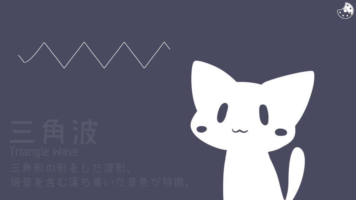 ネコと学ぶ音の波形  #猫の日 #にゃんにゃんにゃんの日
