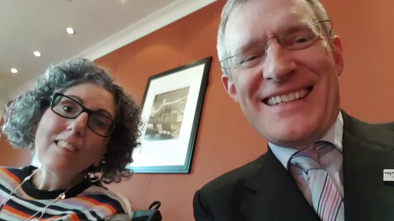 "With @sarahezekiel who has #MND and is about to talking about ""speaking without a voice"" for @mndassoc https://t.co/eMjRgxBgBL"