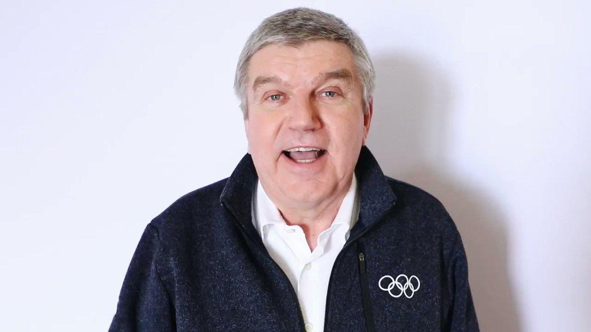 IOC President Bach responds to #Suho  @w...