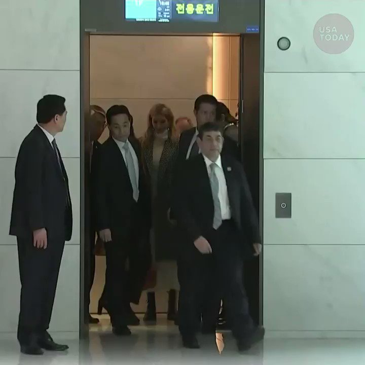Ivanka Trump is in the South Korean capital to serve as the honorary leader of the U.S. delegation at the Olympic closing ceremony. https://t.co/10w2gNxiu8