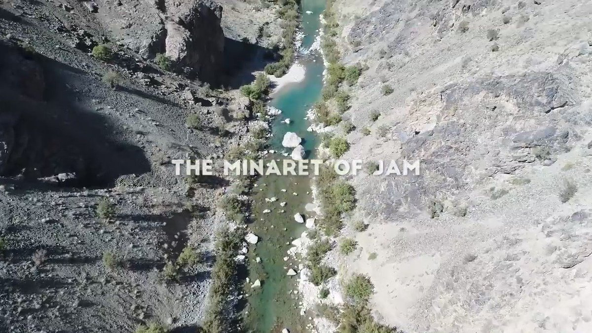 The Minaret of Jam – New video of the amazing UNESCO World Heritage Site in Ghor #Afghanistan
