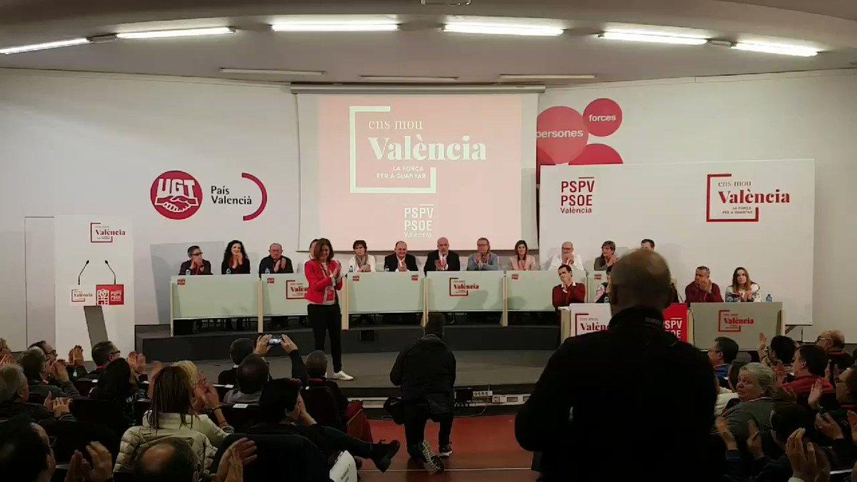 #EnsMouValència La fuerza del socialismo...