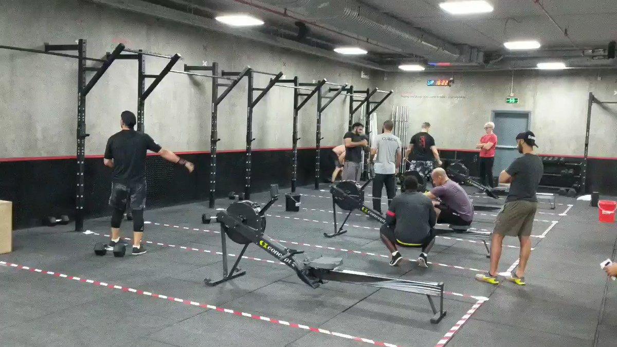 #SaudiArabia crushing #18point1 @CrossFit !#تحرك #كروسفت