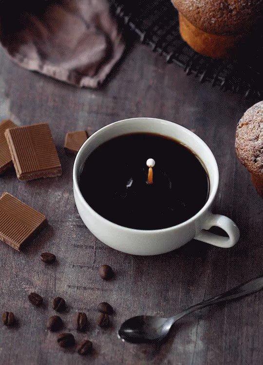 С добрым утром картинки с кофе и шоколадом анимация, картинки пятница работы