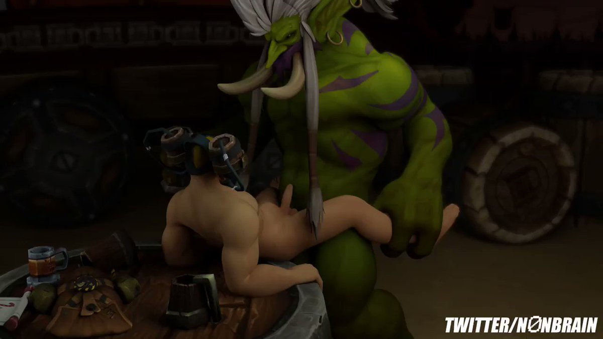 monde de Warcraft porno gay
