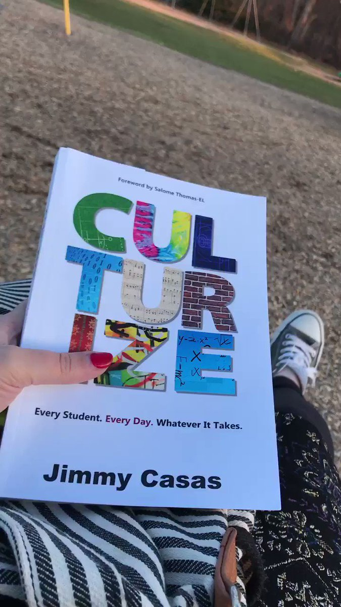 Swinging and reading @casas_jimmy...enjoying this warmer weather #culturize