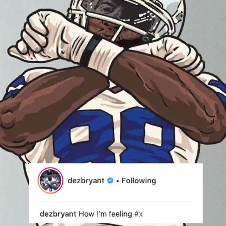 .@DezBryant has spoken.... #DezCaughtIt