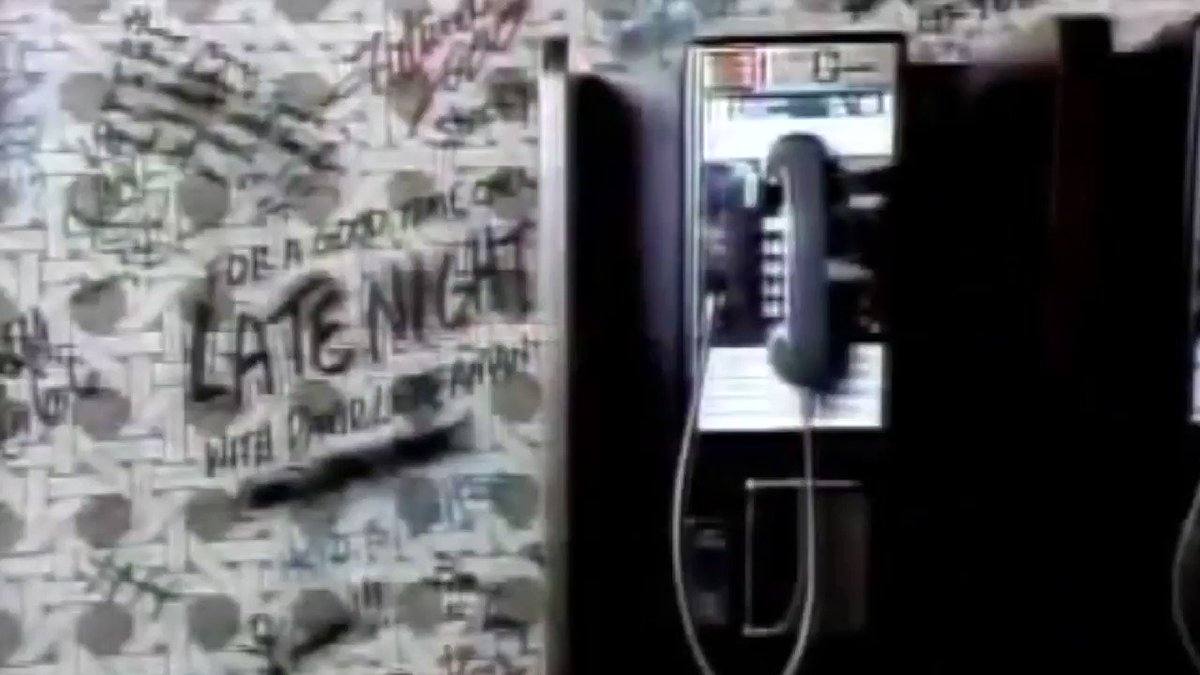 📺David Letterman's Suit of Velcro (February 28, 1984)