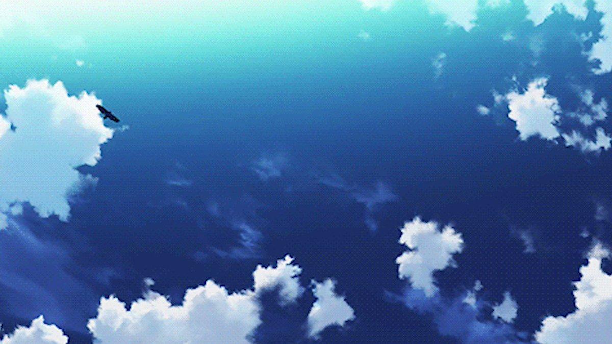Гифы небо