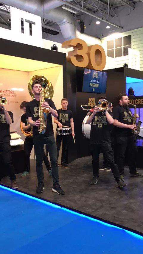 JT celebrate their 30th anniversary in style at KBB NEC #kbb2018