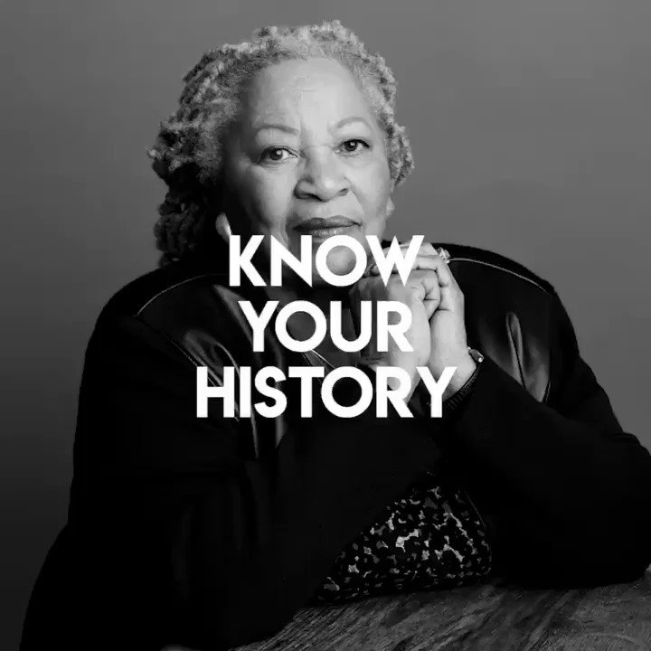"""You are your best thing."" - Toni Morrison  #KnowYourHistory #WomensHistoryMonth @yourrightscamp @ravisionmedia https://t.co/kz1vfUdfuN"