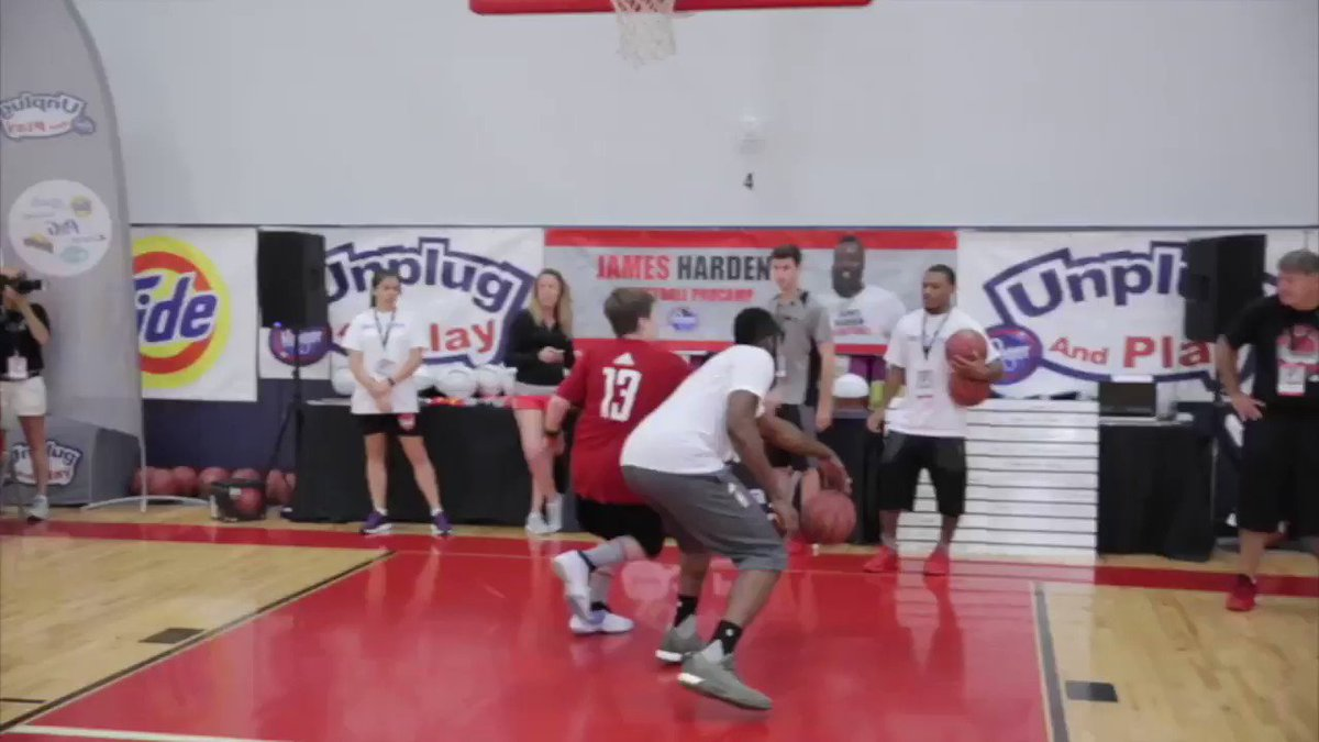 Looking forward to schooling kids at my annual Youth 🏀 @ProCamps in partnership with @kroger again this summer! Details ➡️JamesHardenCamp.com