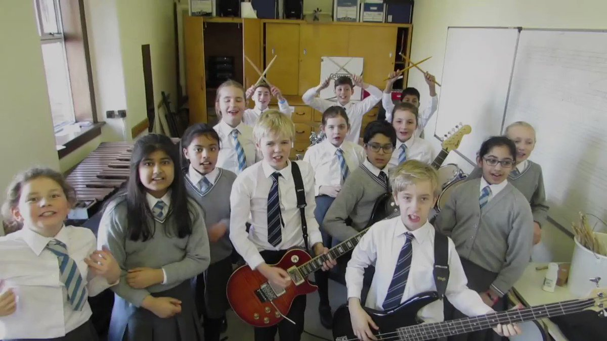 Pupils are busy rehearsing for the first ever Hutchie Rocks Concert held at Beaton Road on Monday, 12th March at 7pm. Pupils can buy tickets at lunchtime all this week. Parents can buy tickets from the Kingarth Street Office or via pupils at Beaton Road #WeAreHutchie #Beoneofus