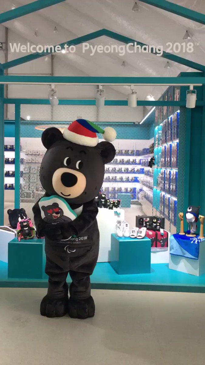 개막일이 다가와서 많이 설레는 #반다비❤️ #Bandabi is very excited!🐻  #2018평창 #동계패럴림픽 #신난다비 #PyeongChang2018 #Paralympics #mascot