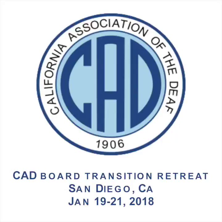 Welcome to CAD - California Association for the Deaf
