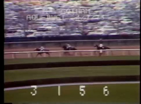 45 years ago a phenomenal three-year-old by the name of #Secretariat, fought off Champagne Charlie in the Gotham Stakes at #Aqueduct - whos ready for this historic race on Saturday? #FlashbackFriday