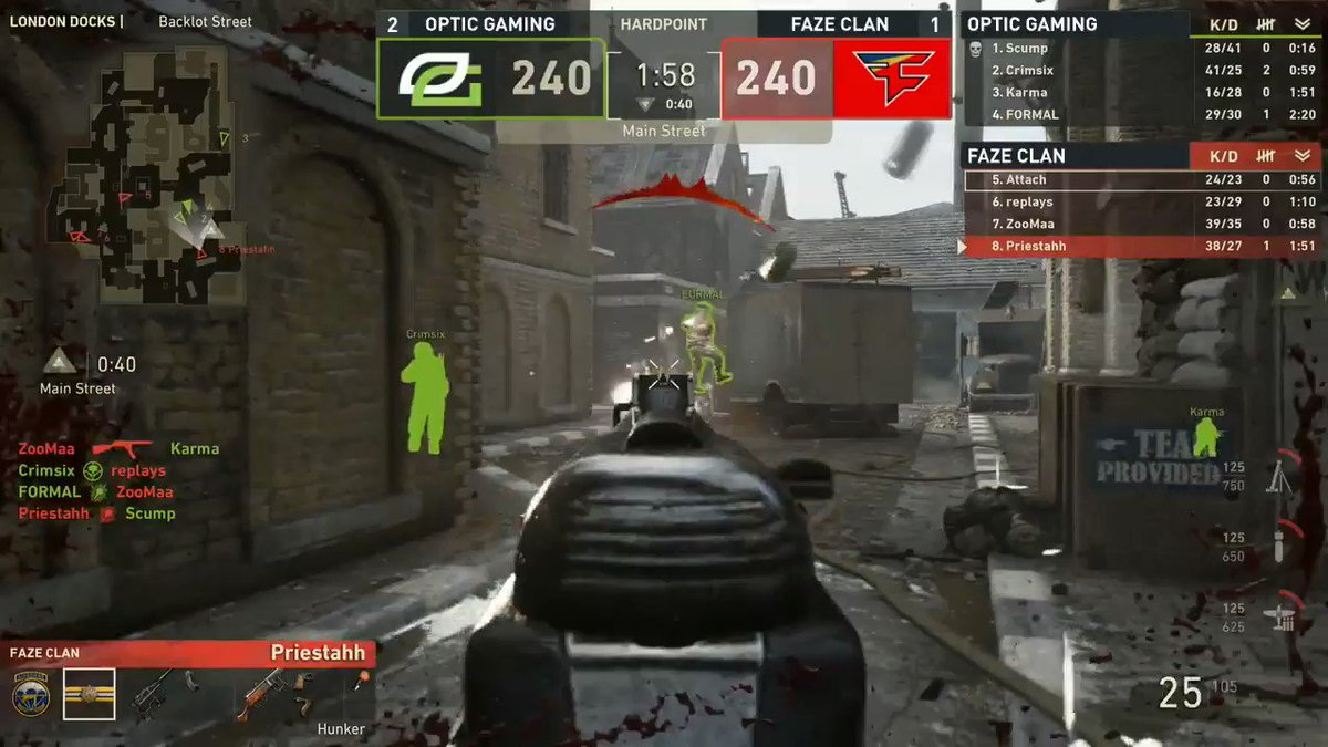 BANG BANG! GG's to FaZe  #OpTicCoD trium...