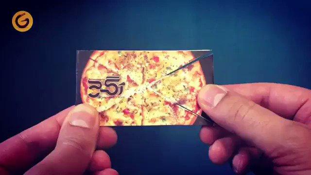 Meilleure Ide De Carte Visite Pour Une Pizzeria Par Soroush Raouf