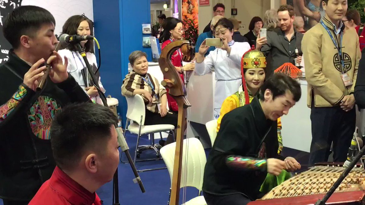 EXPERIENCE #MONGOLIA the GEOTOURISM WAY #ITBBerlin Hall 26c/316 CONCERTS #GERtoGER https://t.co/7eE4kRkuFJ 😎🙏 #TTOT #travel #trips #homestay #culture #fun #tourism #horseback #trip #holiday #tours #photo #lp #tripadvisor #USA #EU #Germany #Berlin #UK #London #Photography #Asia