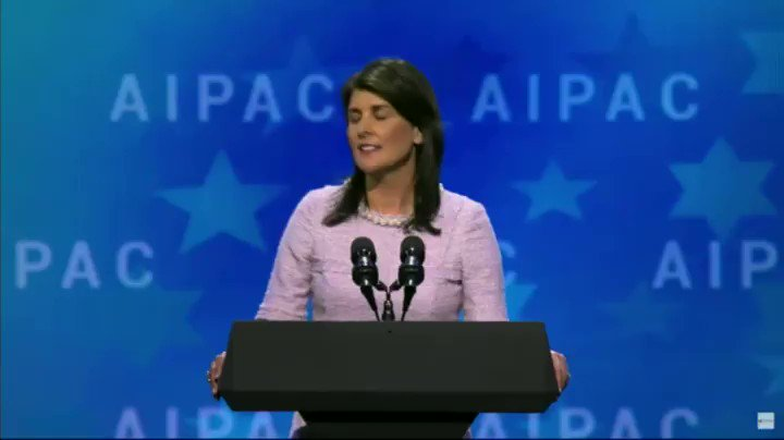RT if you're with @nikkihaley as she sta...