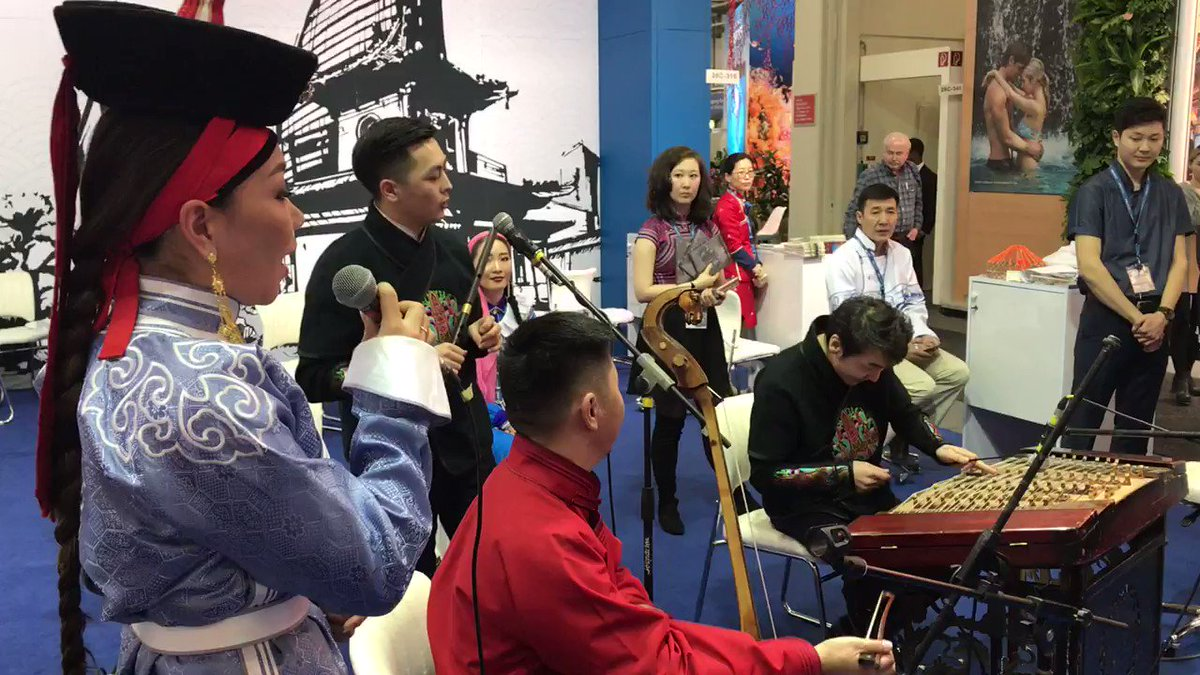 EXPERIENCE #MONGOLIA CONCERTS the GEOTOURISM WAY #ITBBerlin Hall 26c/316 #GERtoGER https://t.co/7eE4kRkuFJ 😎🙏 #TTOT #travel #trips #homestay #culture #fun #tourism #horseback #trip #holiday #tours #photo #lp #tripadvisor #USA #EU #Germany #Berlin #UK #London #Photography #Asia