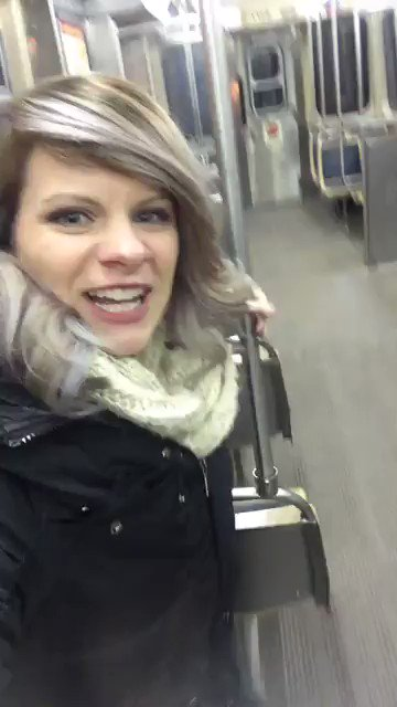 Woman is delighted to find herself alone on train, until she realizes she's not
