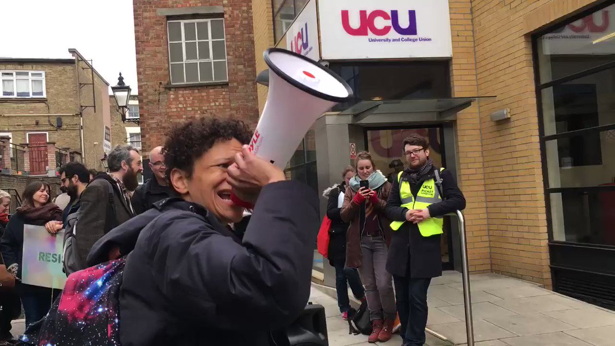 don't get too big for your boots, sally @ucu! #NoCapitulation #USStrike #ucustrike #STORMZY