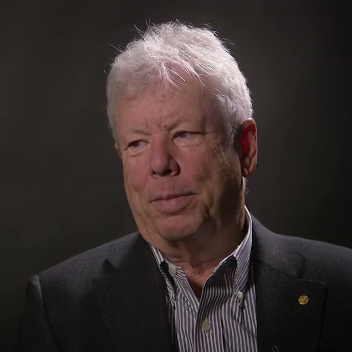 I wasnt a great student. My thesis advisor famously said: We didnt expect much of him - Richard Thaler, 2017 Laureate in Economic Sciences. #NobelPrize