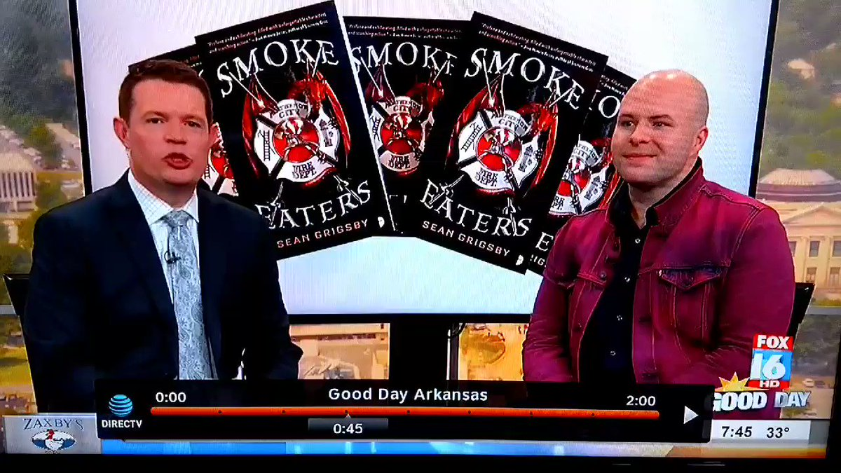 My interview on @FOX16News for SMOKE EAT...