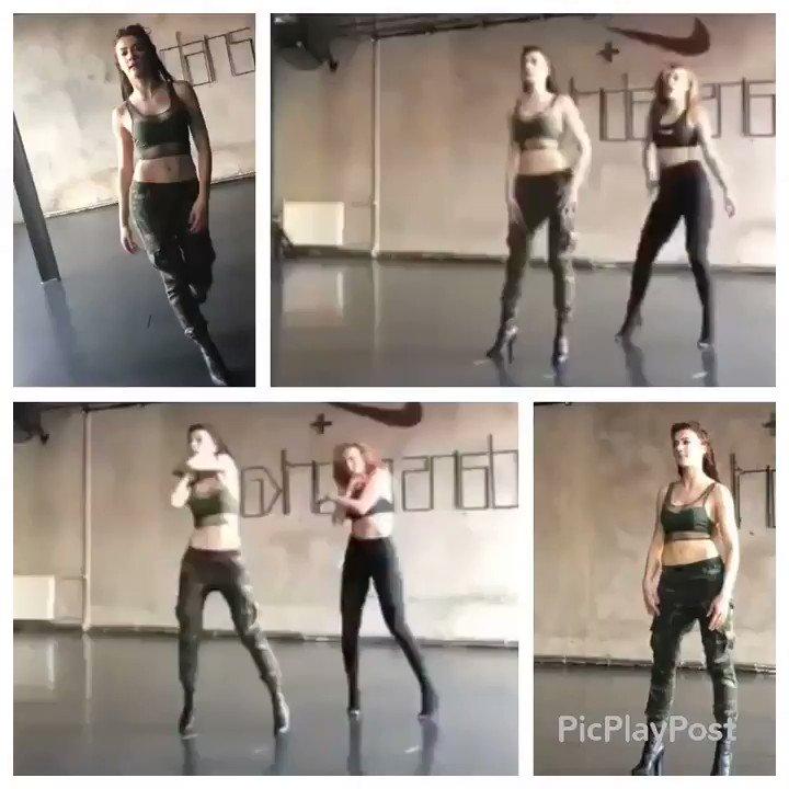 Dans mı demiştik? Kadın oynuyor. 👸 #Burc...