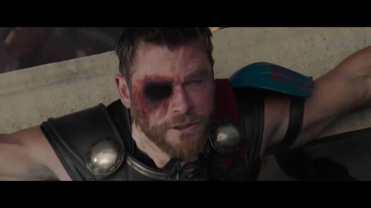 thor: ragnarok fight scene but holding o...