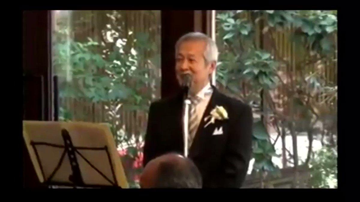 娘の結婚式にて 父「私ハードロックやってまして…」  まわり「あはははは」  父「なぁぜ めぐぅりあうのかを〜」  まわり「!?!??!?!」  この人、非常にカッコ良い 憧れさえ覚える
