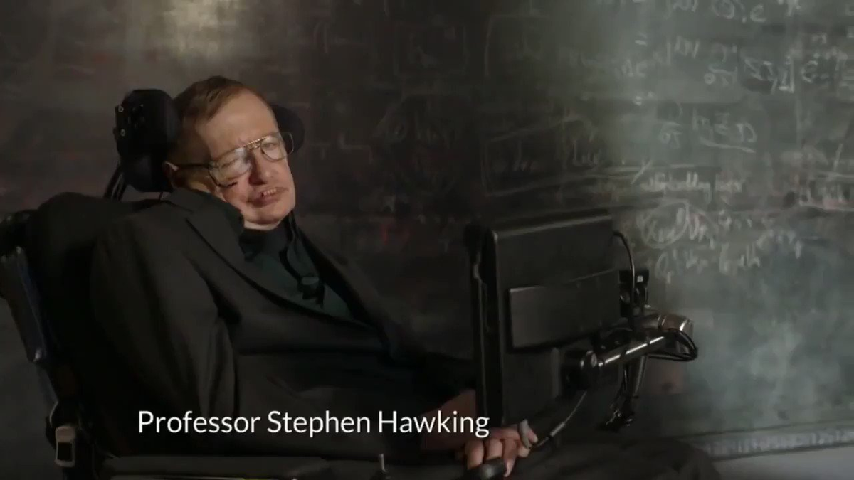 Reloaded twaddle – RT @NASA: Remembering Stephen Hawking, a renowned physicist and ambassador of sc...