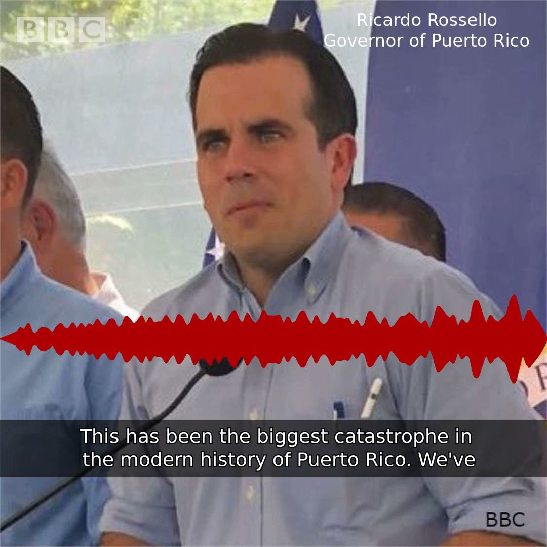"US treats Puerto Ricans as ""second class citizens""."