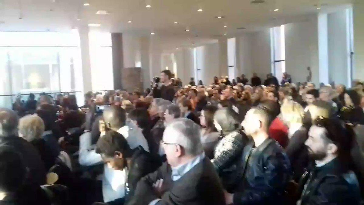 """#14marzo Una sala gremita a #Novara ad ascoltare Andrea #Riccardi """"Tutto può cambiare """" @santegidionews  - Ukustom"""